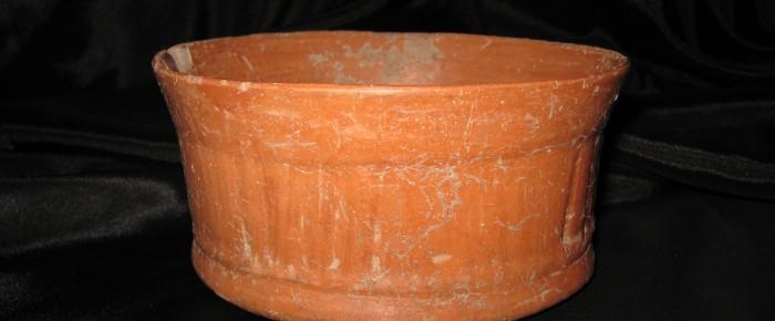 Mayan  Redware Bowl